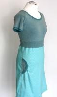 Kleid blauer Schimmer