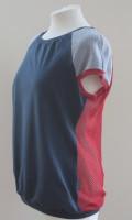 Oberteil roter Rückenwind