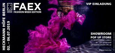 FAEX zur Fashion Week, Juli 2019