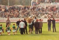 FC Sachsen Maskottchen