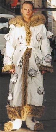 Yeti-Kostüm
