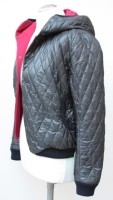 Steppjacke Lakritzschnecke links