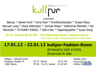 Fashion week janur 2012
