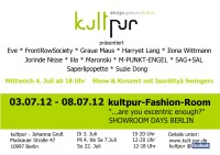 faschion week juli 2012