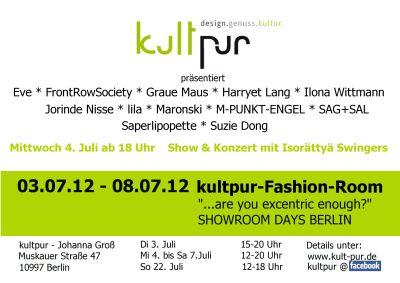 faschion week juli 2012