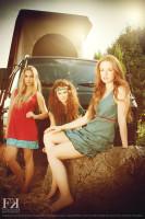 Hippi 3 Mädels Stroh