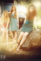 Hippi 3 Mädels Stroh 1