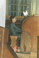 Modenschau in der Philippuskirche, Maria Schenke