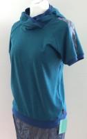 Shirt Kapuze Petrol