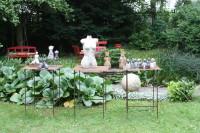 Sommervernissage 2013 bei Franziska M. Köllner, Keramik und Objekte